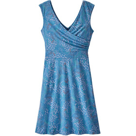Patagonia Porch Song Jurk Dames, feathers/blue